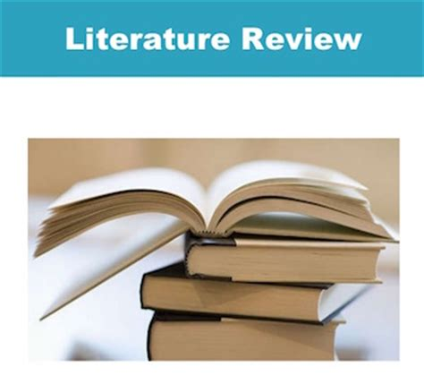 Writing a literature review format